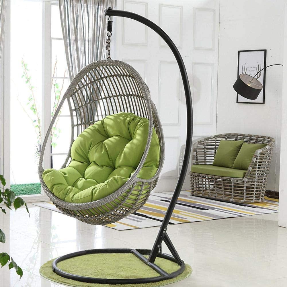 silla colgante colmpio con cojines cómoda sillon hamaca mecedora