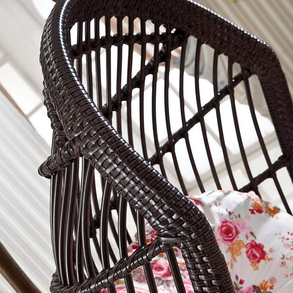 silla colgante de mimbre, hamaca de ocio individual sillas de mimbre ikea