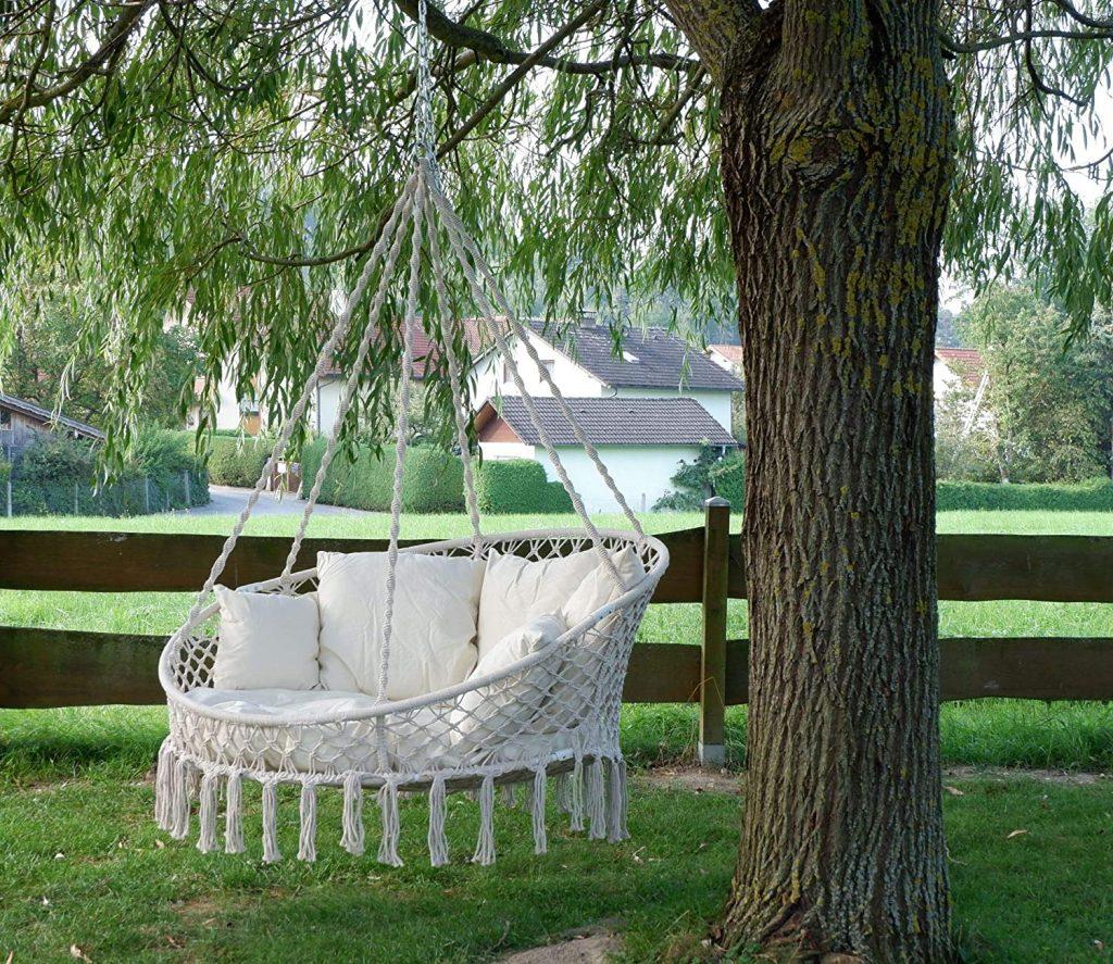 silla colgante para 2 o más personas silla colgante leroy merlin