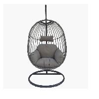 silla colgante con soporte confort24