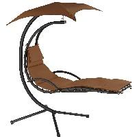 sillón columpio colgante tectake 800699