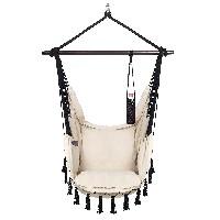 silla hamaca IKEA VITA5 con 2 cojines asientos para columpios muebles jardin leroy merlin portavasos amazon